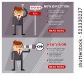business people banner. new... | Shutterstock .eps vector #523330237