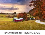 Rural Autumn Jenne Farm In...