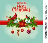 Merry Christmas Greeting Card...