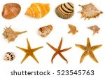 Seashell And Starfish...