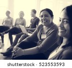 networking seminar meet ups... | Shutterstock . vector #523553593