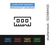 Vector Computer Memory Icon....