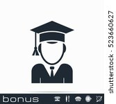 education icon | Shutterstock .eps vector #523660627