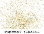 gold glitter texture isolated