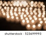 blurred abstract background of... | Shutterstock . vector #523699993