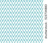 seamless wavy lines pattern... | Shutterstock .eps vector #523734883