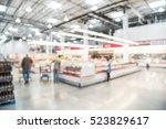 blurred image customers...   Shutterstock . vector #523829617