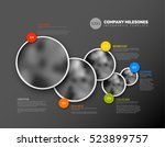vector infographic company... | Shutterstock .eps vector #523899757