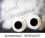 good morning inscription on the ...