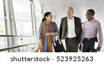 business people walking... | Shutterstock . vector #523925263