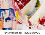 painted abstract background | Shutterstock . vector #523930927