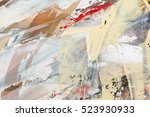 painted abstract background | Shutterstock . vector #523930933