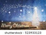 marry christmas  christmas tree | Shutterstock . vector #523933123