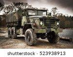 Old Army Military Troop...