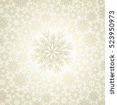 vector christmas background ... | Shutterstock .eps vector #523950973