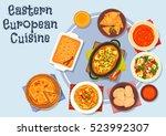 eastern european cuisine icon...