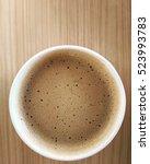 hot coffee | Shutterstock . vector #523993783