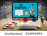 job descriptions  human... | Shutterstock . vector #523993993