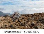 weather beaten wooden signpost  ...   Shutterstock . vector #524034877