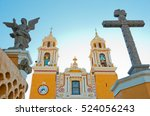 church of our lady of remedies... | Shutterstock . vector #524056243