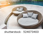 Relaxing Rattan Chairs With...