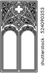 Frame For Text In The Gothic...