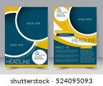 brochure template. business...   Shutterstock .eps vector #524095093