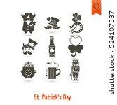 saint patricks day isolated... | Shutterstock .eps vector #524107537