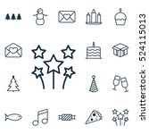 set of 16 xmas icons. can be...