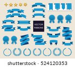 vector collection of decorative ... | Shutterstock .eps vector #524120353