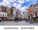 antwerp  belgium april 23  2016 ... | Shutterstock . vector #524143363