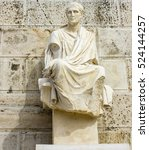 Sculpture Of Menander At...