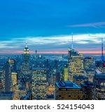 new york   december 20  2013 ... | Shutterstock . vector #524154043