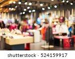 blurred showcases fashion... | Shutterstock . vector #524159917