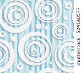 seamless elegant circle pattern.... | Shutterstock .eps vector #524160577