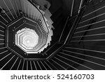 spiral staircase | Shutterstock . vector #524160703