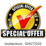 illustration of special offer... | Shutterstock .eps vector #524177233