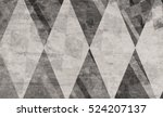black and white abstract... | Shutterstock . vector #524207137