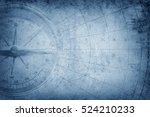 pirate and nautical theme... | Shutterstock . vector #524210233