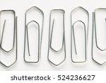 paper clips | Shutterstock . vector #524236627