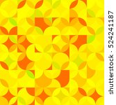 seamless pattern with colored... | Shutterstock .eps vector #524241187