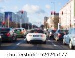 city street traffic and lights... | Shutterstock . vector #524245177