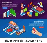 digital medical isometric... | Shutterstock .eps vector #524254573