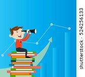 businessman manager marketing...   Shutterstock .eps vector #524256133