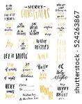 merry christmas  2017.... | Shutterstock .eps vector #524263867