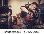 professional car  mechanic... | Shutterstock . vector #524270053
