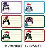 Christmas Tags With Penguins...