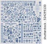design elements set | Shutterstock .eps vector #524295133