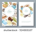 vector spa treatment... | Shutterstock .eps vector #524303107