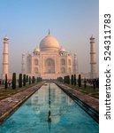 taj mahal  india. | Shutterstock . vector #524311783
